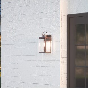 Gracie Oaks Dunder Outdoor Wall Lantern