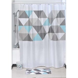Nordik Printed Single Shower Curtain