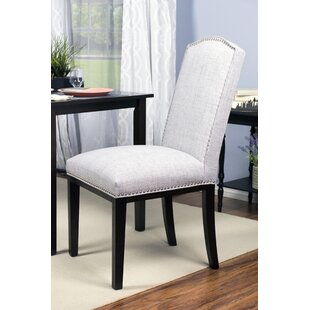 Harpole Upholstered Wood Dining Chair (Set of 2) DarHome Co