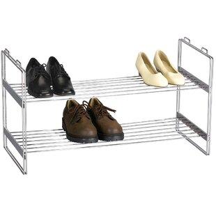 Household Essentials 10 Pair Stackable Shoe Rack