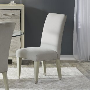 Redick Upholstered Dining Chair (Set of 2) Rosdorf Park