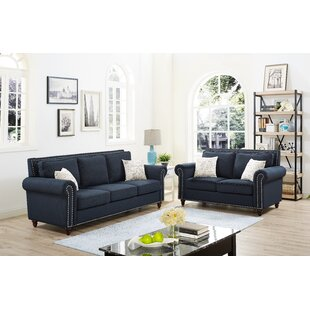 Ashlyn 2 Piece Living Room Set by Alcott Hill