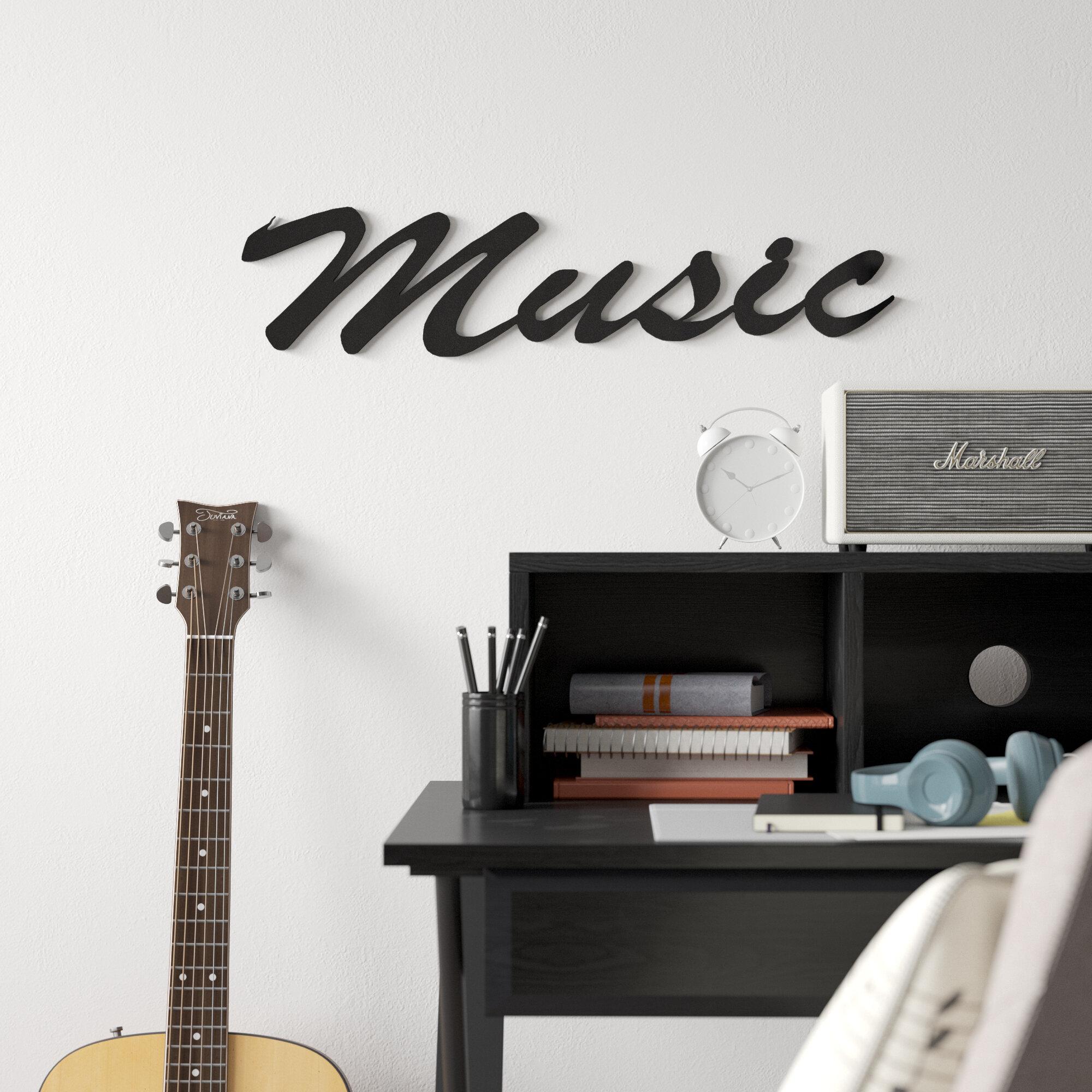 Grovelane Music Word Wall Décor
