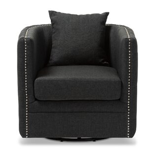 Glassman Swivel Armchair