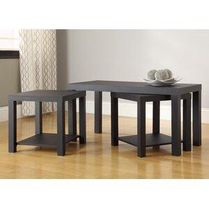 Clarice 3 Piece Mini Coffee Table Set
