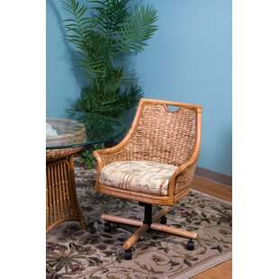 Brisa Tilt Swivel Caster Dining Chair by ..