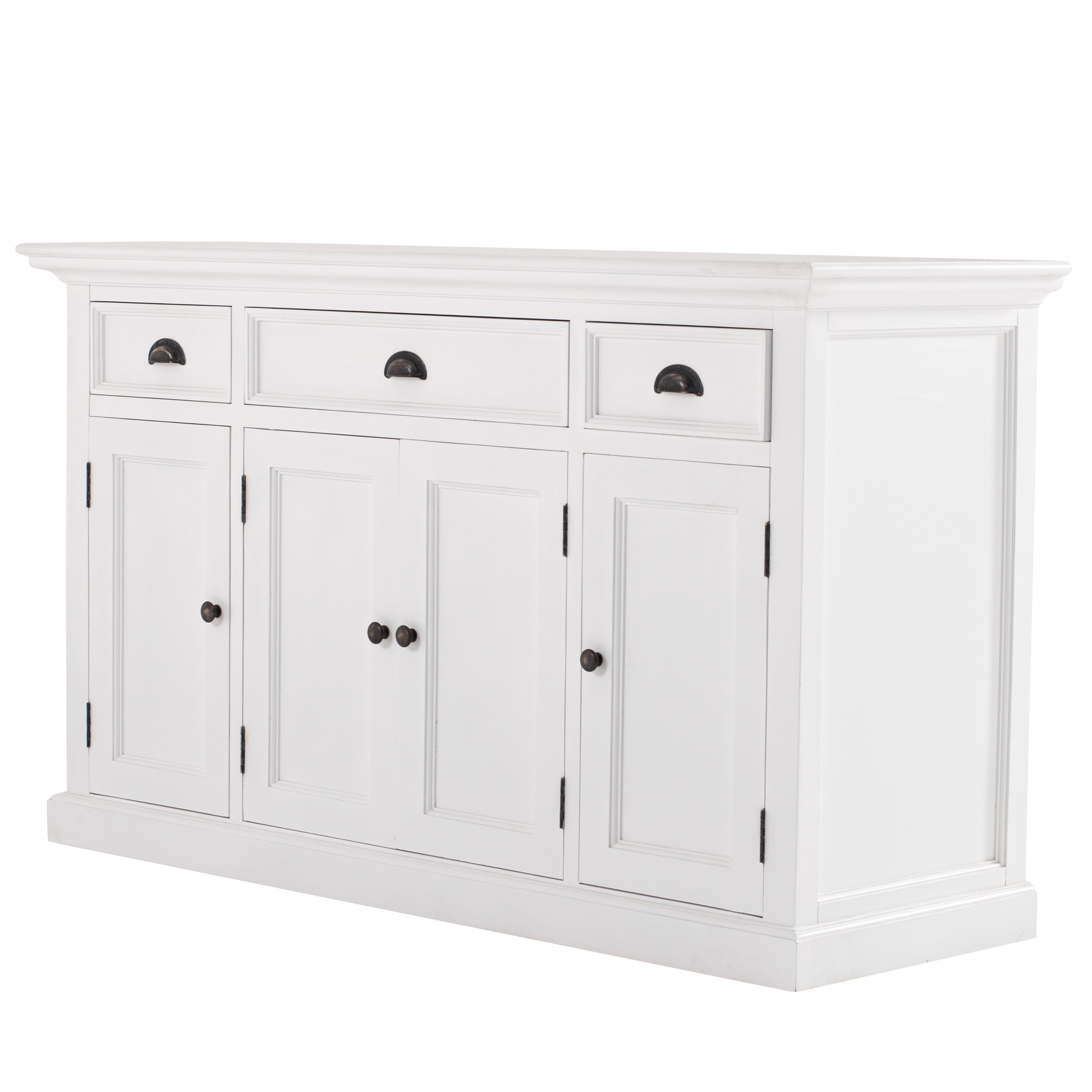 Beachcrest Home Amityville 57 09 Wide 3 Drawer Sideboard Wayfair