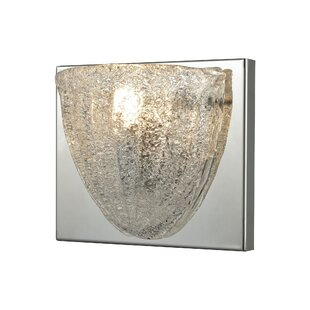 Cale 1-Light Bath Sconce by Highland Dunes