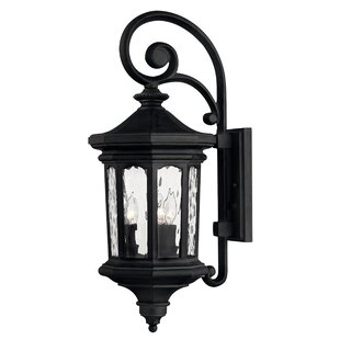 Great choice Raley 3-Light Outdoor Wall Lantern By Hinkley Lighting