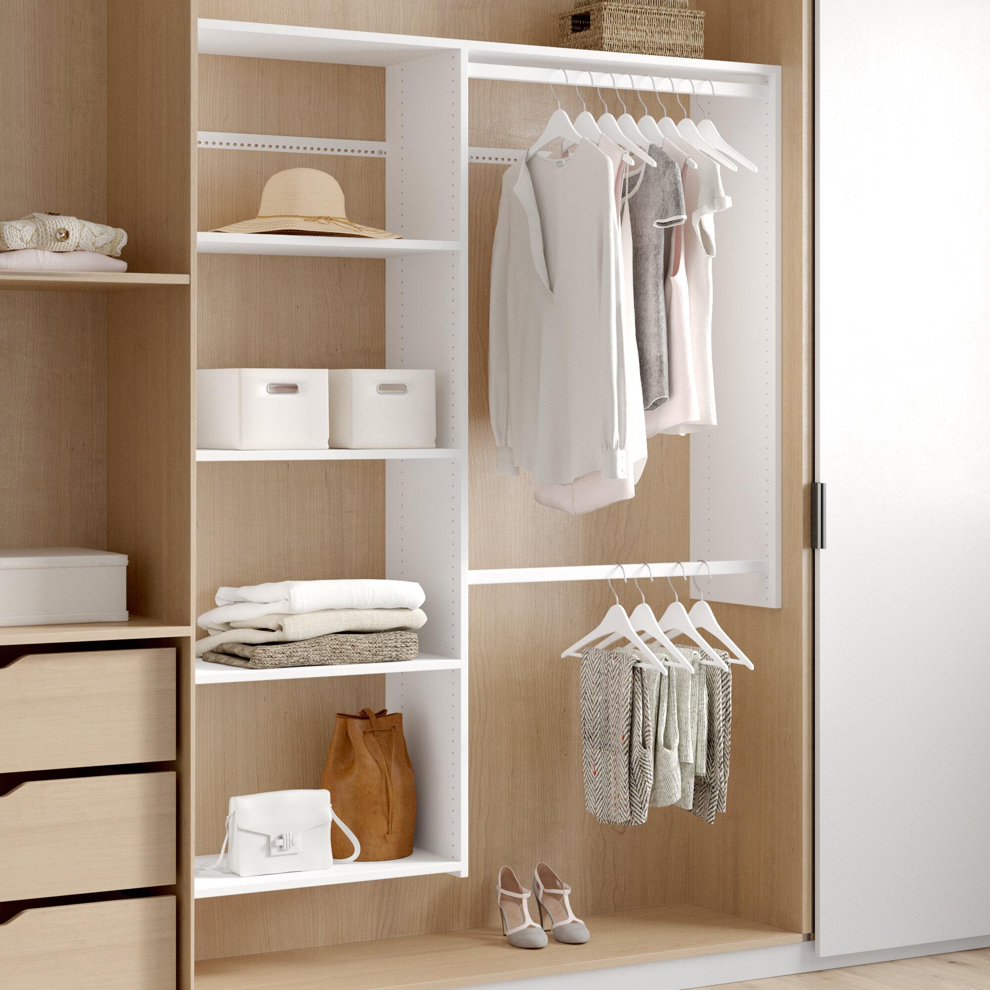 Closet Systems Organizers Wayfair