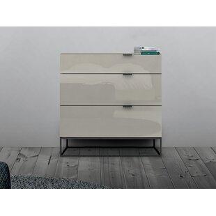 Order Vizzione 3 Drawer Dresser by Casabianca Furniture
