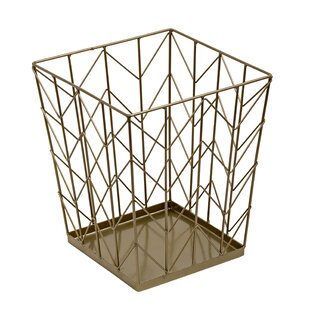 Kaila Coastal Decorative Waste Basket