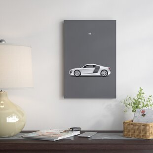 'Audi R8' Graphic Art Print on Canvas ByEast Urban Home