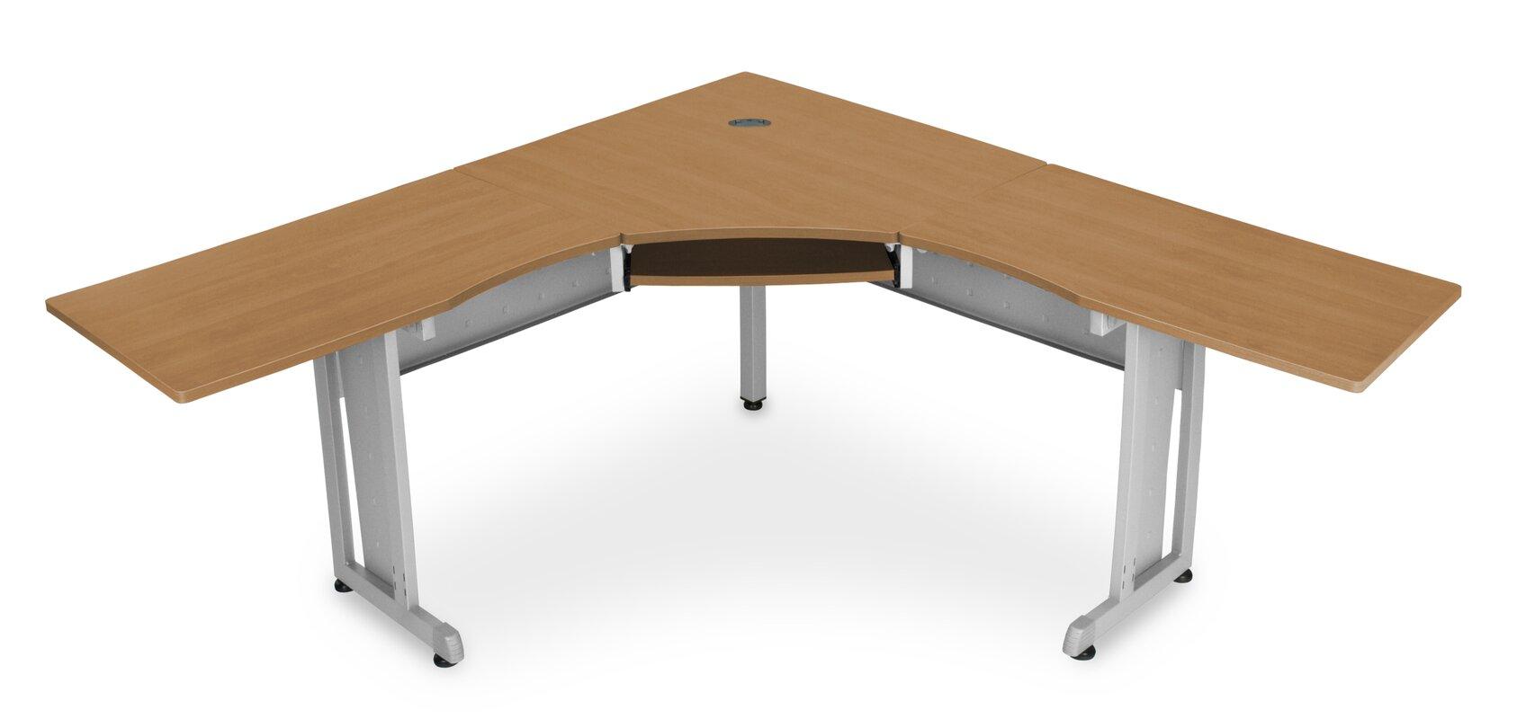 Rize Panel System Computer Desk