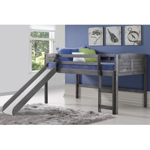 Hoyt Louver Twin Low Loft Bed by Isabelle amp Max