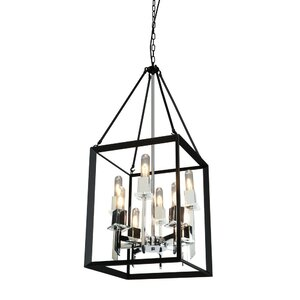 Haught 8-Light Candle-Style Chandelier