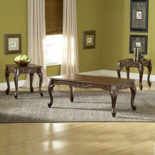 Darby Home Co Dygenys 3 Piece Coffee Table Set