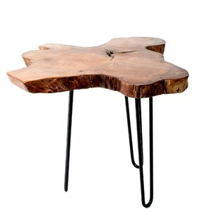 Online Reviews Mcmillan Wood Top End Table By Union Rustic