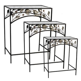 Coombs 3 Piece Nesting Table by Fleur De Lis Living