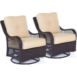 Innsbrook Patio Chair with Cushion (Set of 2)