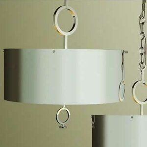 O 4-Light Drum Chandelier