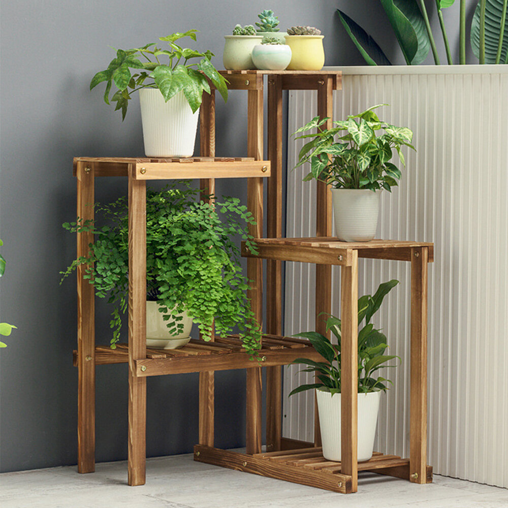 Freeport Park Alpine Free Form Multi Tiered Plant Stand Reviews Wayfair