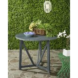 Hollandsworth Solid Wood Side Table