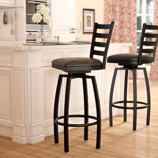Charlton Home Hannum 32 Swivel Bar Stool