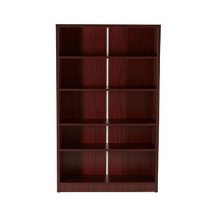 Gibney 5-Shelf Wood Standard Bookcase by Latitude Run