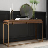 Mcatee 55 Solid Wood Console Table by Mercury Row®