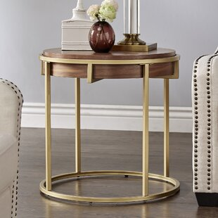 Affordable Price Enzo End Table by Mercer41