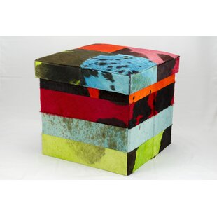 Cubes Collapsible Storage Ottoman by Nourison