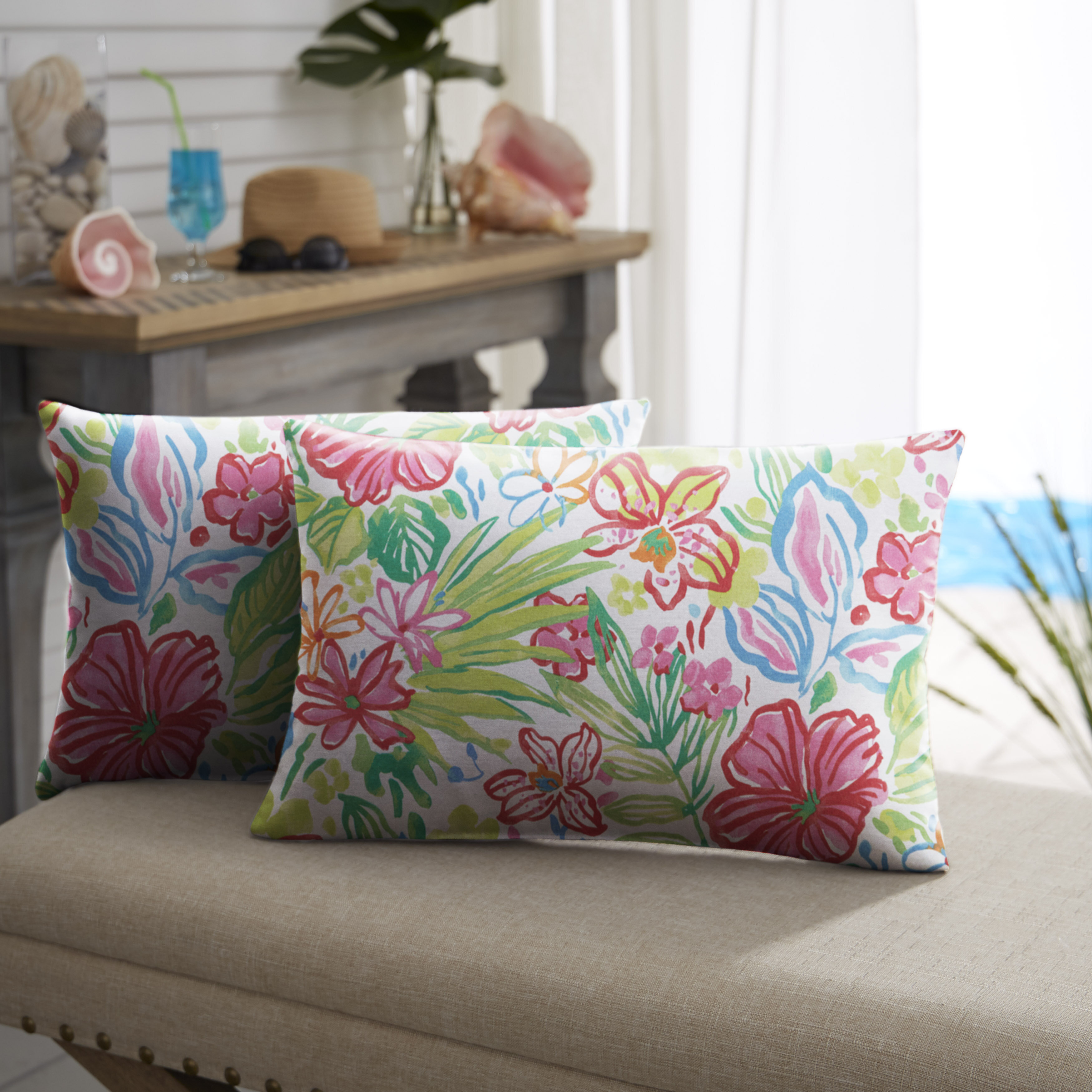 bungalow zutphen blue outdoor scatter shop showy prodigious garden shapely stitch corded river treasures rc outdoordecorative reviews flame striped smart daisy pillow or rose lumbar rectangular geometric pillows