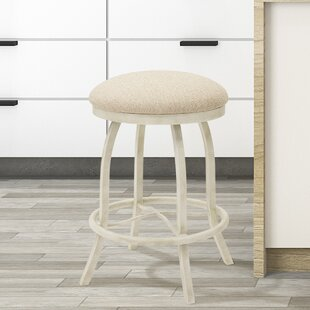 Voyles 30 Swivel Bar Stool by Ophelia & Co.