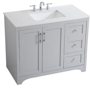 Philippa 42 Single Bathroom Vanity Set by Beachcrest Home