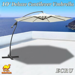 Latitude Run Tallulah Sunshade Hanging Outdoor 10' Cantilever Umbrella