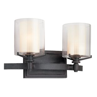Affordable Bevill 2-Light Vanity Light By Three Posts