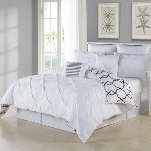 Rigina 8 Piece Reversible Comforter Set