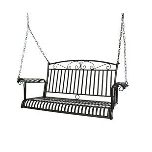 Criner Courtyard Steel Porch Swing by August Grove