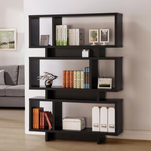 Mcbee Geometrically Standard Bookcase by Ivy Bronx