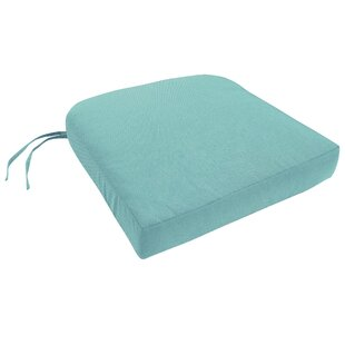 Knife Edge Indoor/Outdoor Sunbrella Dining Chair Cushion