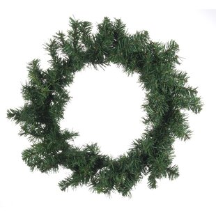 60cm Plastic Wreath (Set Of 2) Image