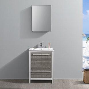 Trieste Allier Rio 24 Single Bathroom Vanity Set ByFresca