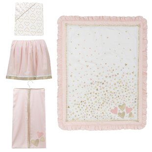 Best Confetti 4 Piece Crib Bedding Set By Lambs & Ivy