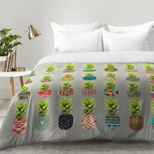 Pineapple Party Comforter Set by East Urban Home