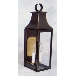 Brook Farm 2-Light Outdoor Wall Lantern