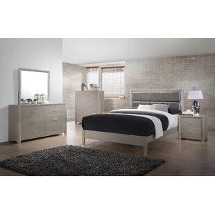 Denton Upholstered Panel Configurable Bedroom Set by Mercer41