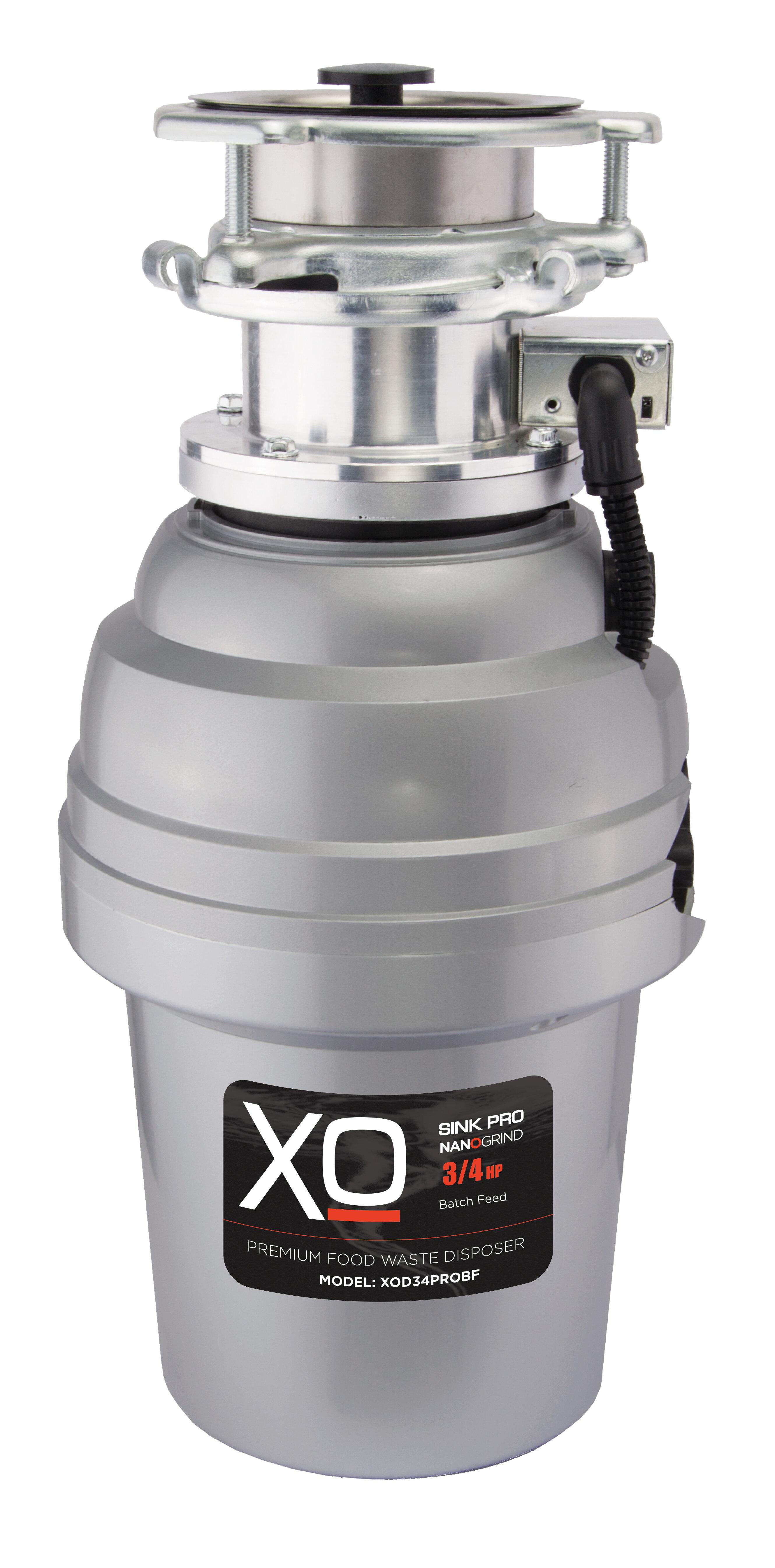 Xo Appliance 3 4 Hp Batch Feed Garbage Disposal Wayfair