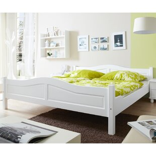 Okolona 140 X 200cm Solid Wood Bed By Brambly Cottage