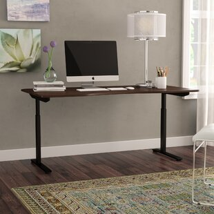 Chwalinski V-Height Adjustable Standing Desk by Latitude Run New